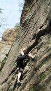 Rock Climbing Photo: The Start of Manic Impression