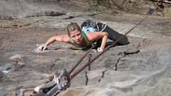 Rock Climbing Photo: Manic Impression