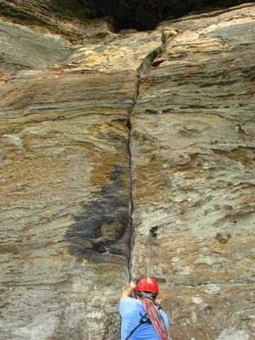 Rock Climbing Photo: Bongo Start