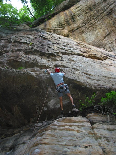 Rock Climbing Photo: Creature Feature roof