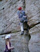 Rock Climbing Photo: Mighty Eidson