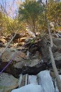Rock Climbing Photo: Season Finale' Feb. 09