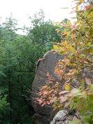 Rock Climbing Photo: Eye of the Needle