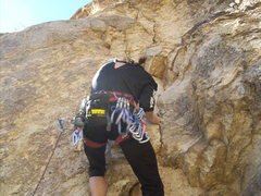 Rock Climbing Photo: skeleton lead