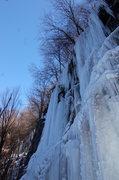 Rock Climbing Photo: Caveshot NEI4+, Connellsville Rod & Gun Club, Sout...