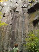 Rock Climbing Photo: Tips City