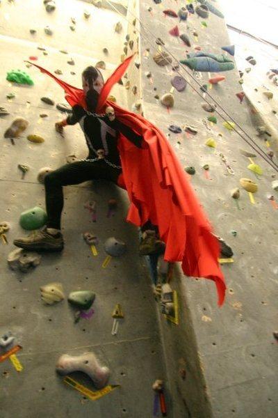 Rock Climbing Photo: halloween at vertical dreams climbing gym...