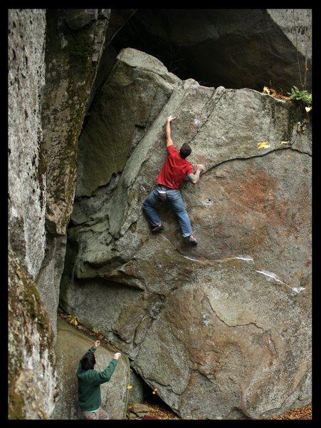 Rock Climbing Photo: the pocket problem