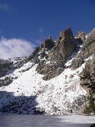 Rock Climbing Photo: RMNP 11-01-09 3