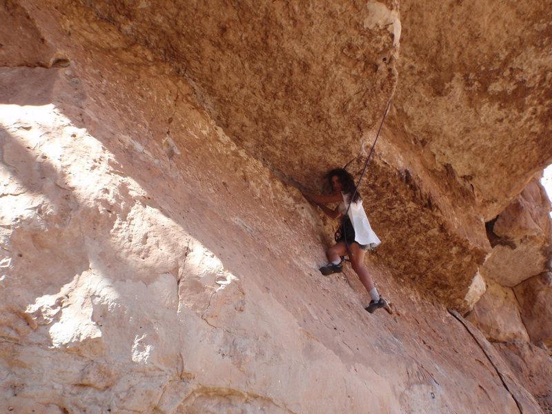 Rock Climbing Photo: Super me on Halloween, walking the plank.  i will ...