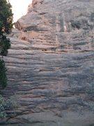Rock Climbing Photo: Short Headwall.