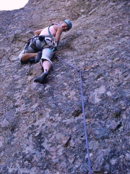 Climbing at Pinnacles National Monument