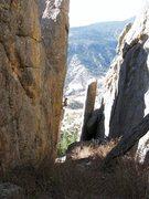 Rock Climbing Photo: Looking down the Vestibule.