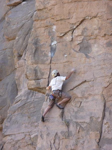 Tom Ogden on Chossman of the Desert<br>