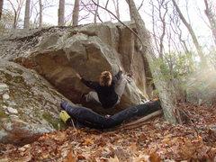 Rock Climbing Photo: sqeeze!