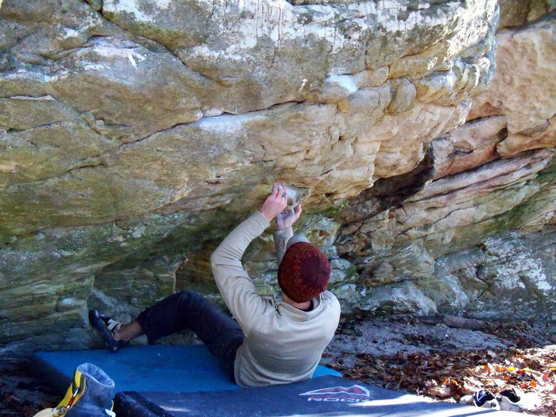 "Aaron Parlier starting ""Minima (low)"" (V-6)"