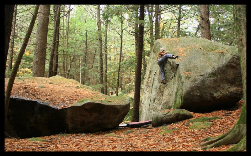 Rock Climbing Photo: boulder natural