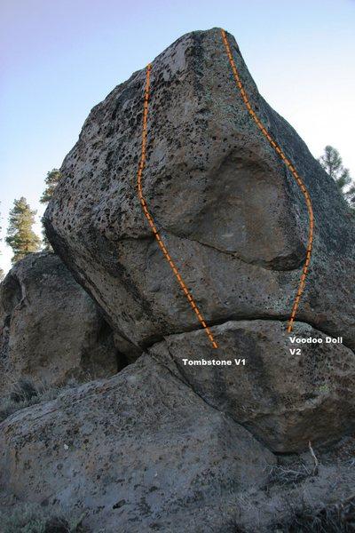 Tomb Boulder Topo