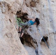 """Rock Climbing Photo: Me on """"No Gearrr""""...Alabalik crag."""