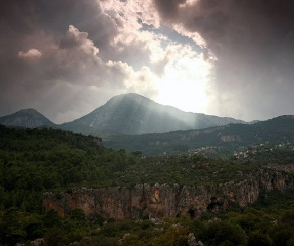 Geyikbayiri; in the mountains.....an hour away from Antalya
