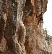 Rock Climbing Photo: Nazo!  Hardcore!