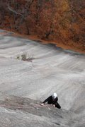 Rock Climbing Photo: pulling the overlap on slipshod...