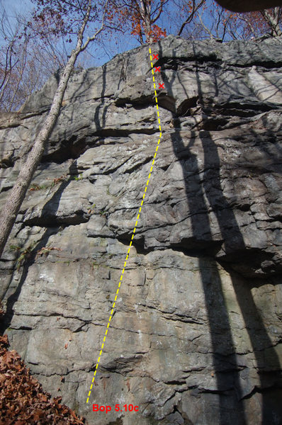 BOP at River's End Crag, Ohiopyle State Park, PA
