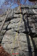 Rock Climbing Photo: BOP at River's End Crag, Ohiopyle State Park, PA