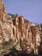 Rock Climbing Photo: this shows the upper part of the route Mike Sokolo...