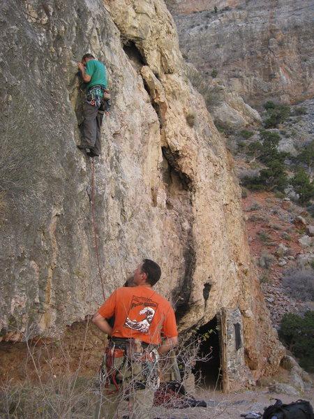 Hermit Shack Wall.