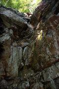 Rock Climbing Photo: Piton corner 5.7