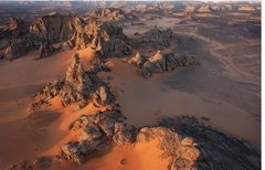 Rock Climbing Photo: Sahara Desert 1
