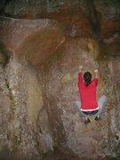 Rock Climbing Photo: Myself getting ready