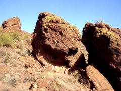 Rock Climbing Photo: Monkey Skull