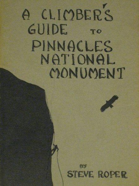 Rock Climbing Photo: Steve Roper's 1966 Pinnacles guide.