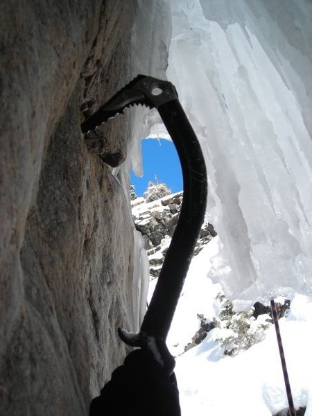 About to move from rock, to ice