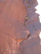 Rock Climbing Photo: Kat cruising on no beggin'