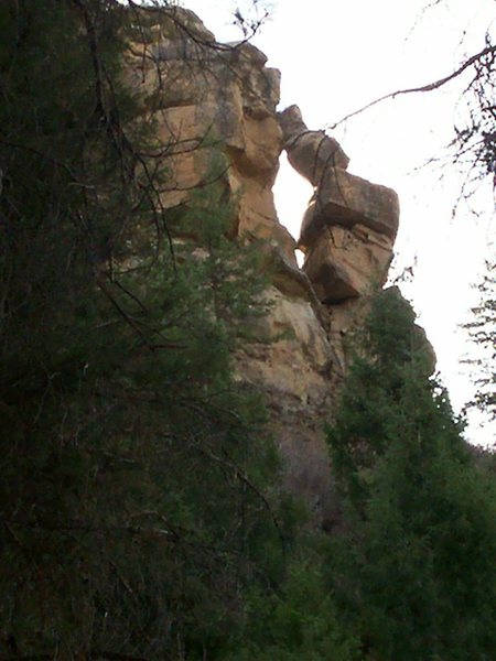 1st ascent for those who dare...Wildcat Canyon.