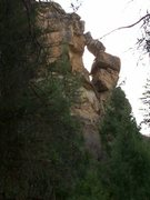 Rock Climbing Photo: 1st ascent for those who dare...Wildcat Canyon.