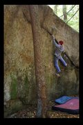 Rock Climbing Photo: ride the lightning