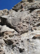 Rock Climbing Photo: Myself rapping down Too Much Fun.
