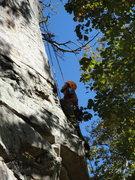 Rock Climbing Photo: Me on Boobs.