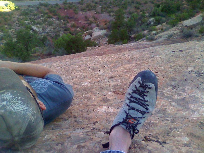Rock Climbing Photo: Otto's Ladder.