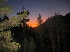 Rock Climbing Photo: Sierra sunset- or was it sunrise?