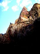 Rock Climbing Photo: Some cool looking piece of rock early in the morni...