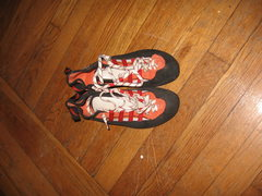Rock Climbing Photo: Mescalito sz men's uk 9.5