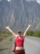 Rock Climbing Photo: Happy to be in the sun in Hidalgo!