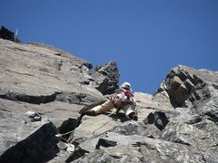 Rock Climbing Photo: climbing The Tooth in Washington, the day before w...