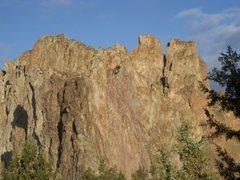 Rock Climbing Photo: Smith Rocks in the sunrise