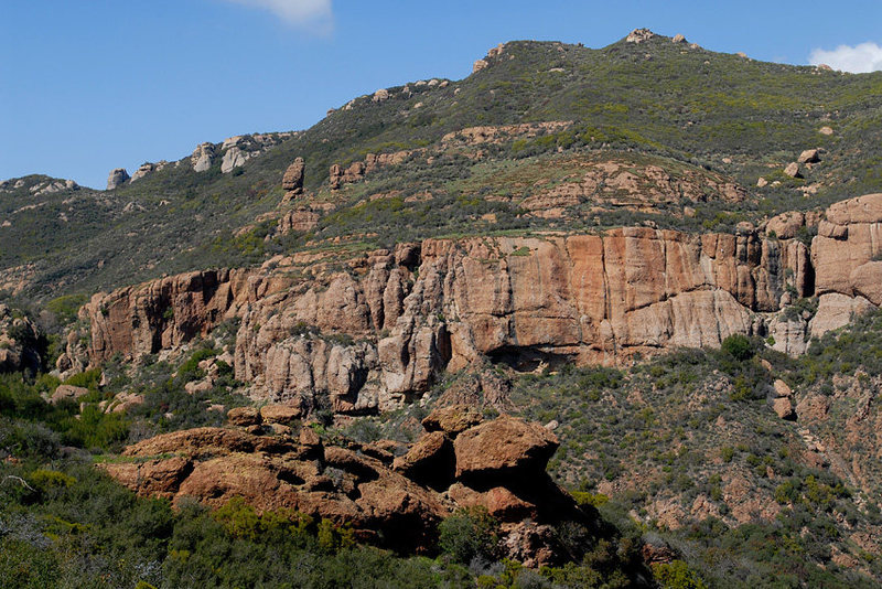 Echo Cliffs, Santa Monica Mountains